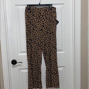 Iman NWT Palazzo pants Size LP elastic waist